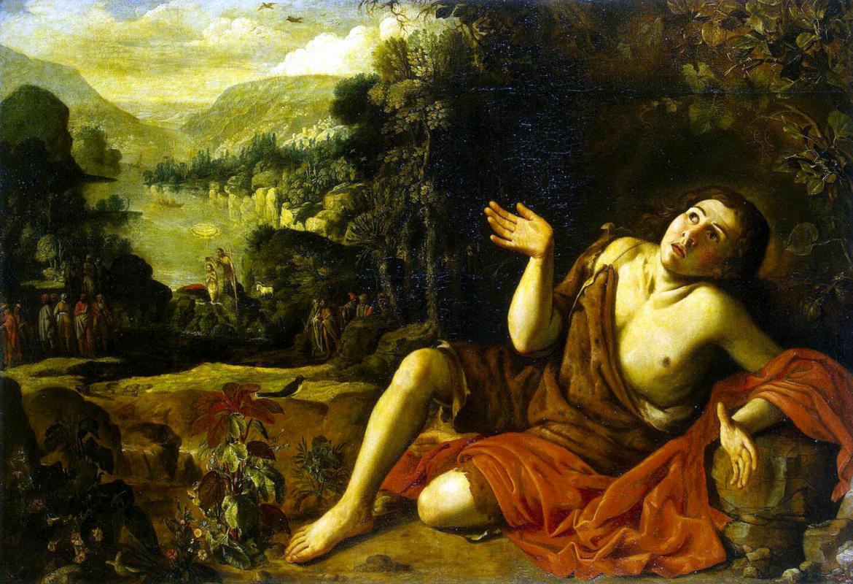 Франсиско Кольянтес. Иоанн Креститель в пустыне