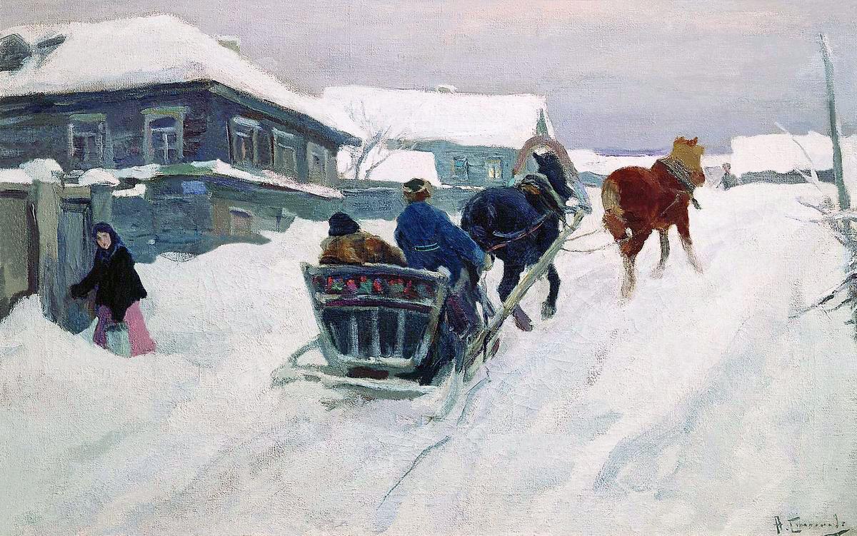 Alexey Stepanovich Stepanov. Remote province