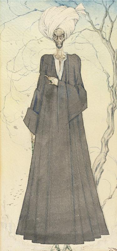 Иванов Павел Петрович (Paul Mak). Старый египтянин. 1930