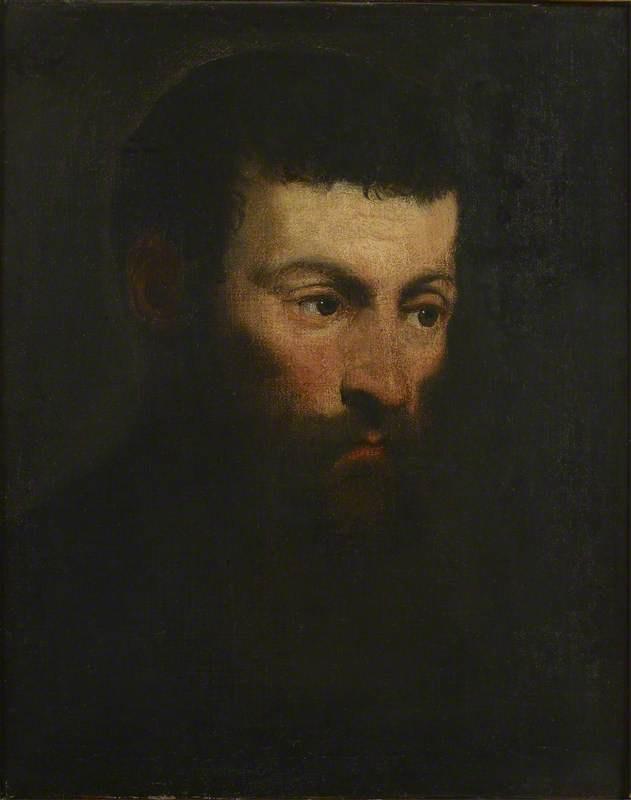 Якопо (Робусти) Тинторетто. Портрет мужчины с бородой