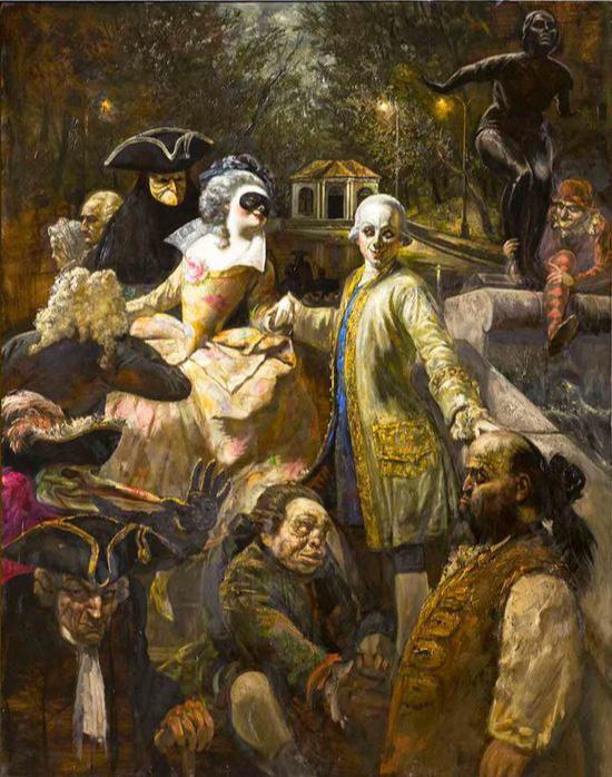 Vasily Vladimirovich Shulzhenko. Secular society in Gorky Park