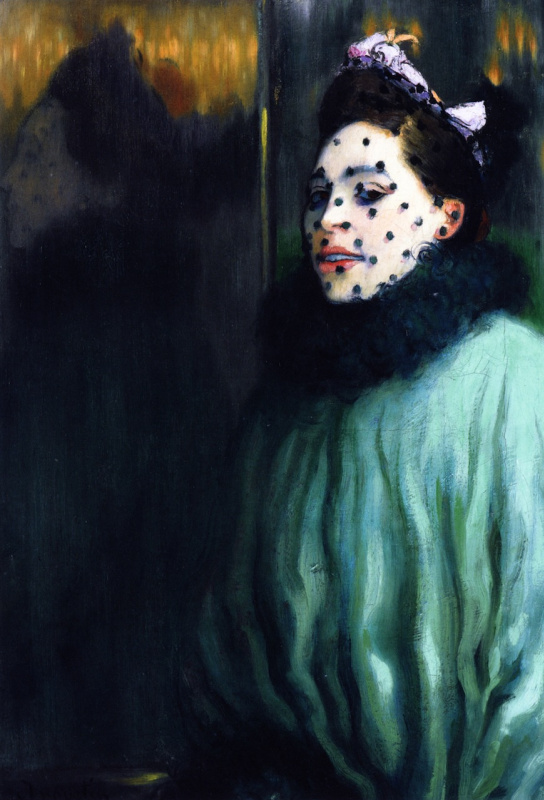 Луи Анкетен. Femme à la voilette, 1891