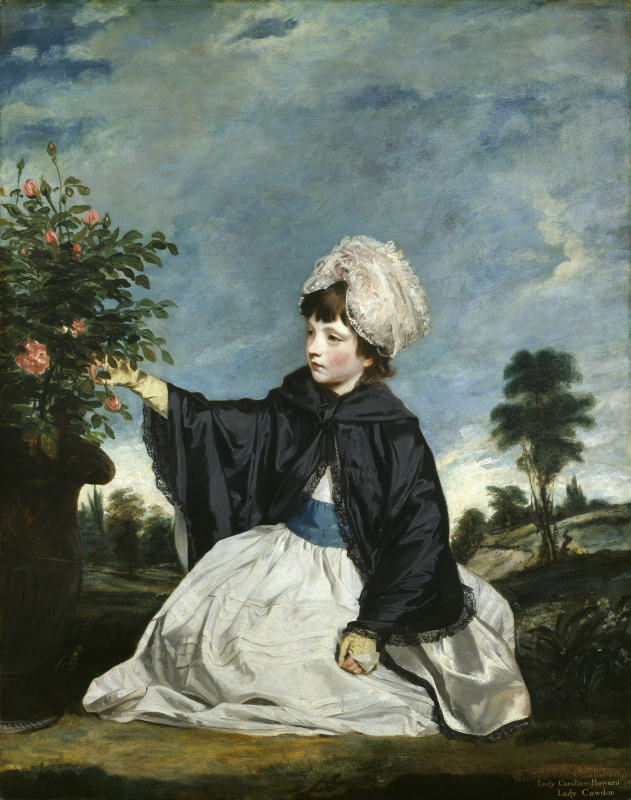 Joshua Reynolds. Portrait of Lady Carolina Howard