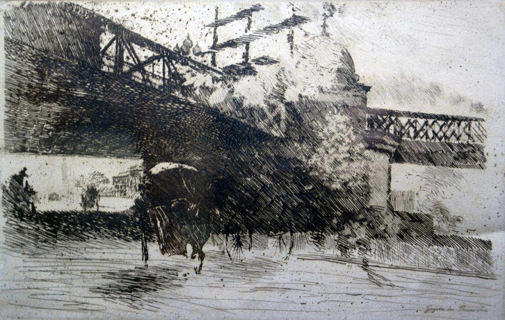 Giuseppe de Nittis. View Of London