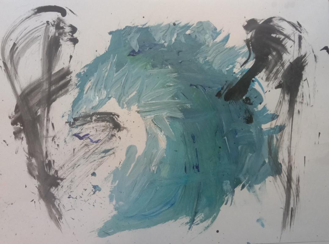 Unknown artist. Лед и тьма