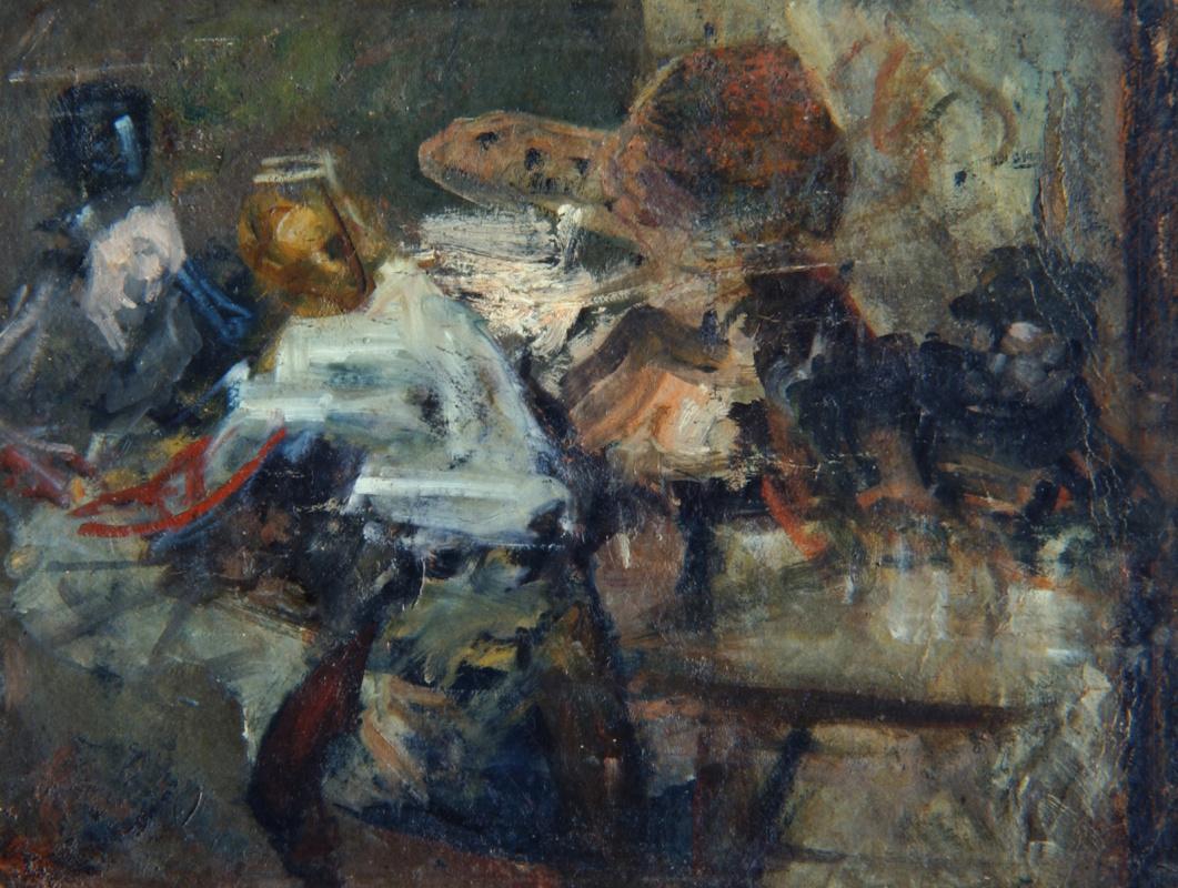 Anton Azhbe. In a studio