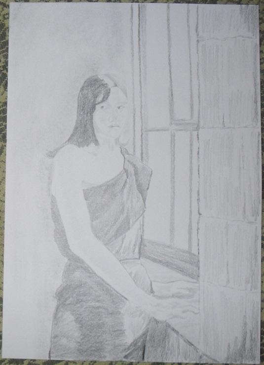 Василий Береговой. У окна.