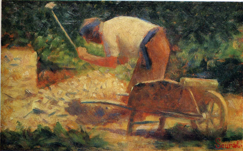 Жорж Сёра. Работник