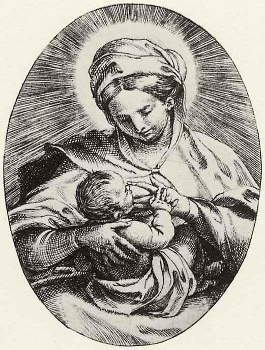 Аннибале Карраччи. Дева Мария