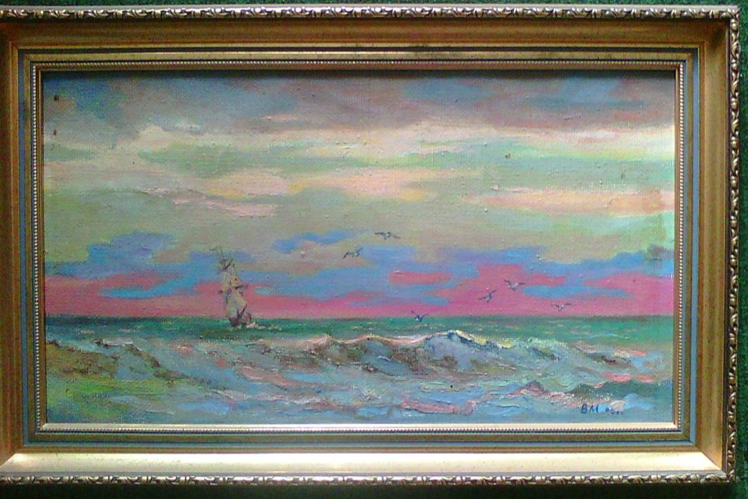 Valery Anatolyevich Mashnitsky 1934-2001. SEA NIGHT