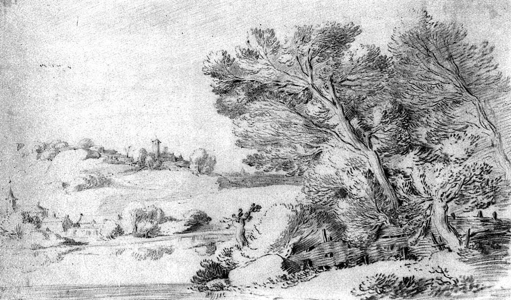 Peter Monique. Landscape
