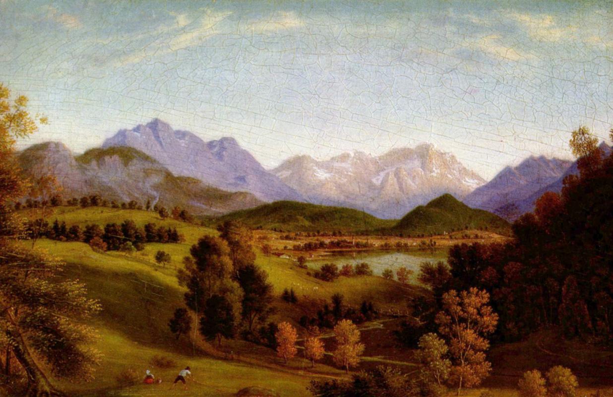 Ferdinand Olivier. Valley Loyzaga