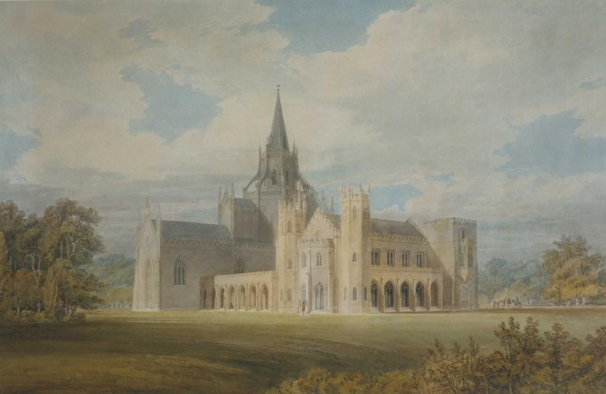 Джозеф Мэллорд Уильям Тёрнер. Вид на Фонтхиллское аббатство с юго-запада