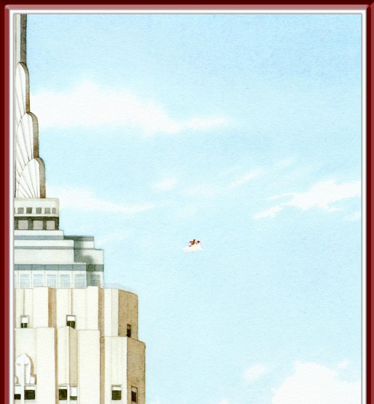 Дэвид Визнер. Голубое небо