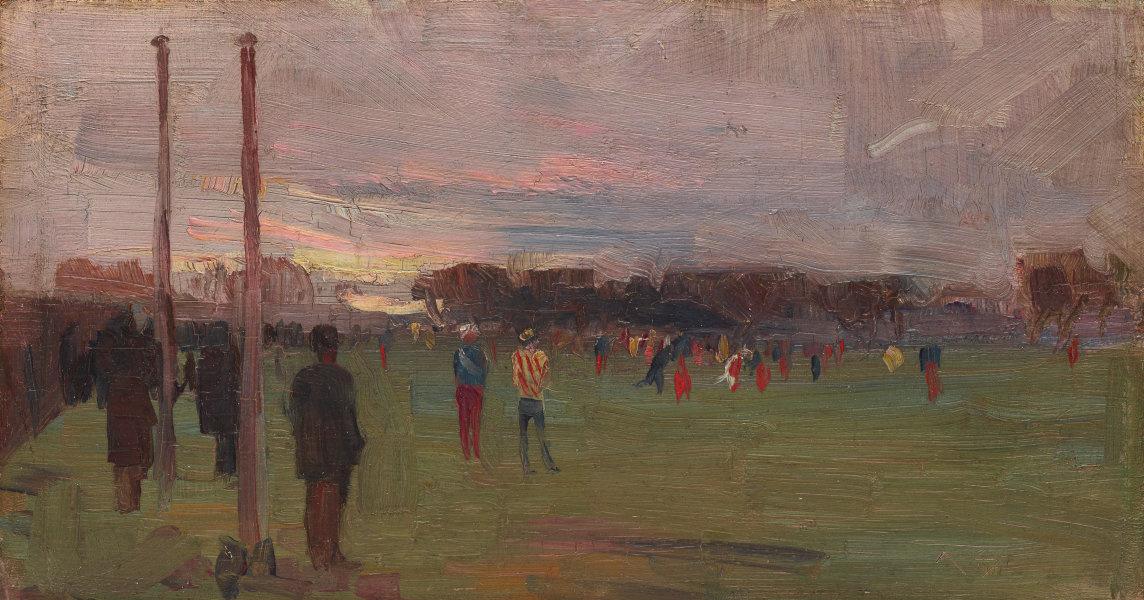 Arthur Ernest Streaton. National game