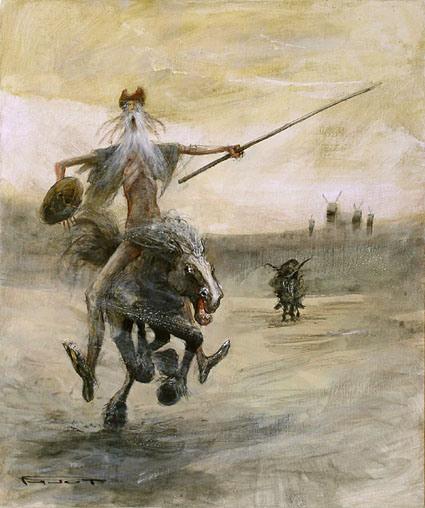 Marcel Pajot. Attack. Don Quixote