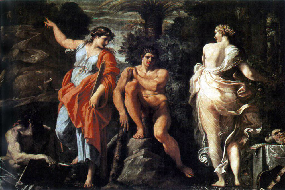 Annibale Carracci. The Choice Of Hercules