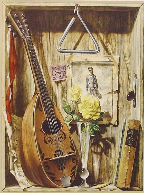 Хесус Эльгера Аусенсиа. Музыкальный натюрморт
