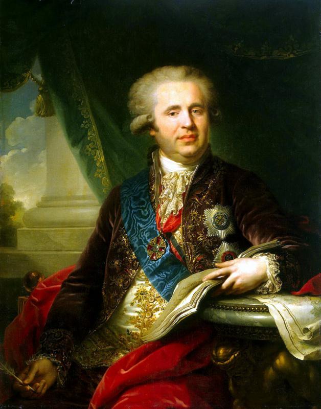 Лампи, Иоганн (старший). Портрет князя Безбородко