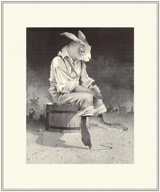 Барри Мосер Брер. Грустный кролик