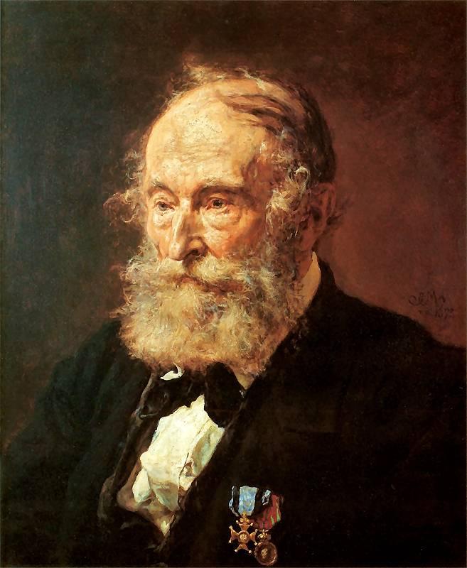 Ян Матейко. Портрет Лукаша Добжаньского