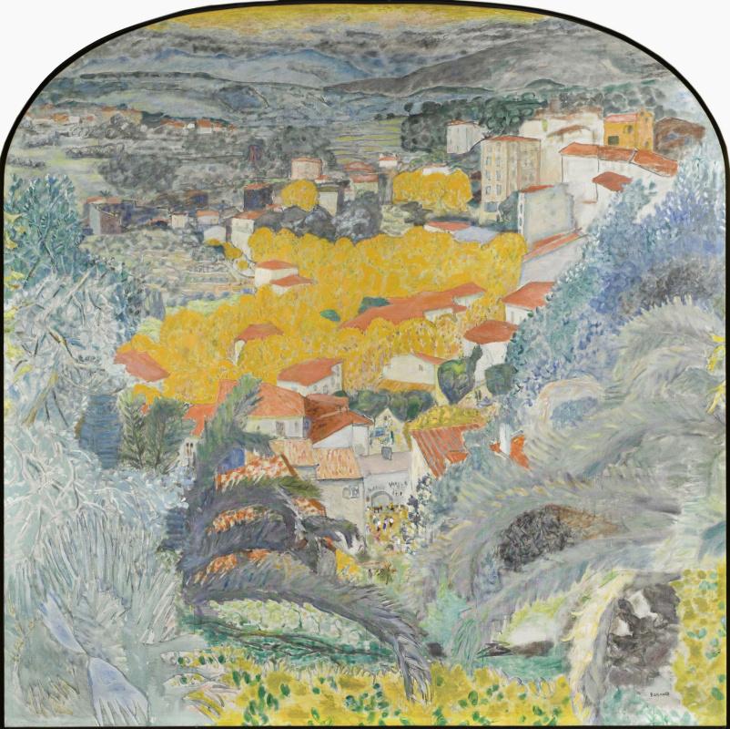 Пьер Боннар. Вид на Канны