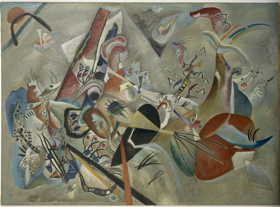 Wassily Kandinsky. In grey