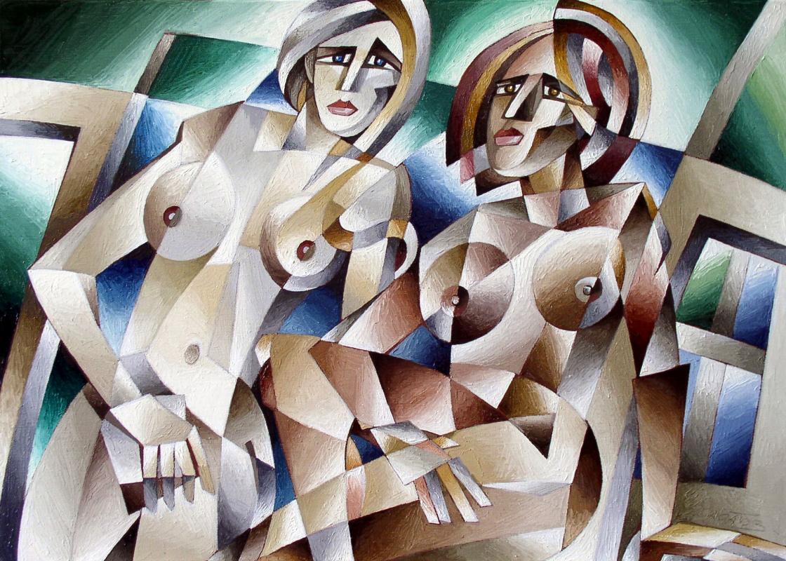 Andrei Ivanovich Saratov. Women Charlottenburg