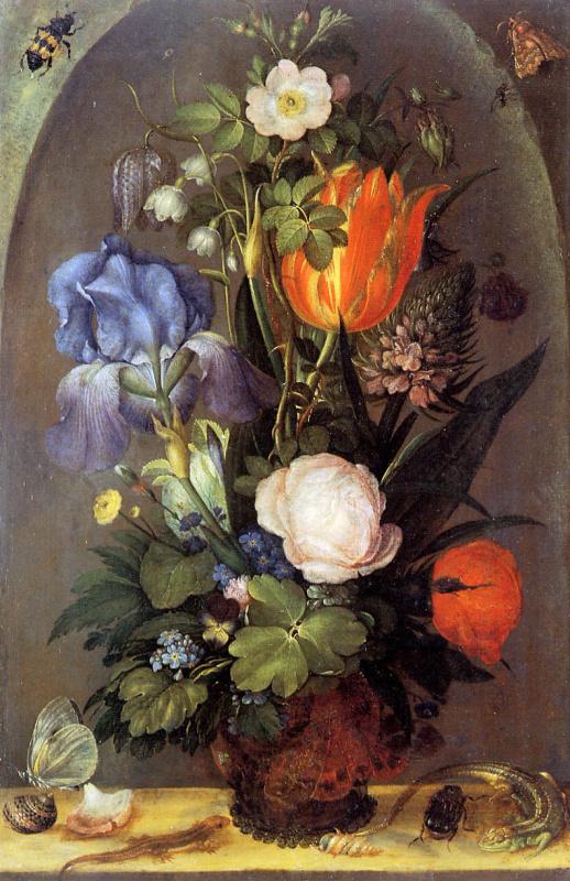 Рулант Саверей. Цветочный натюрморт