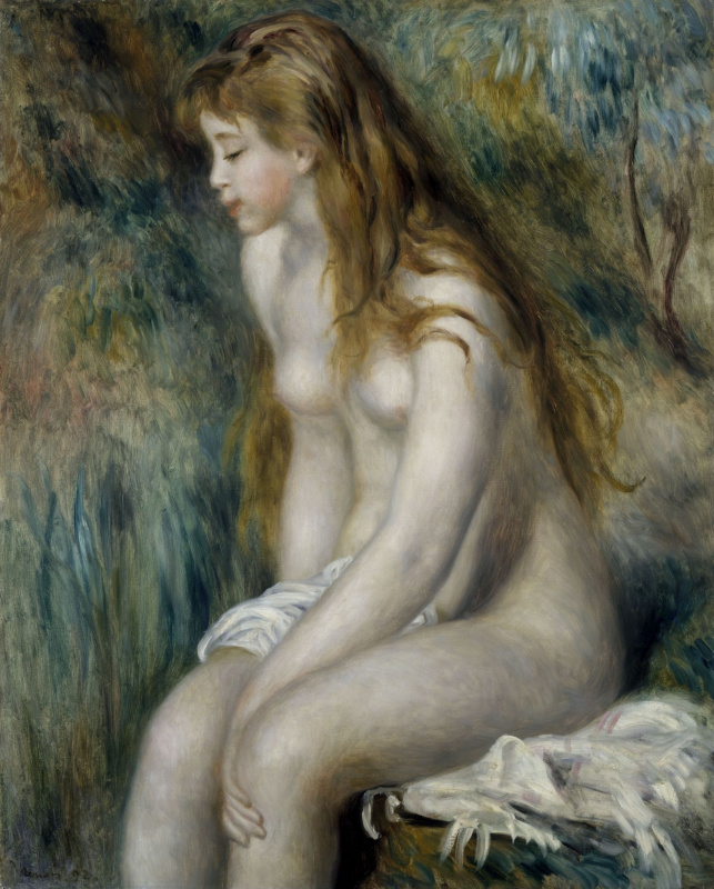 Pierre-Auguste Renoir. Young bather