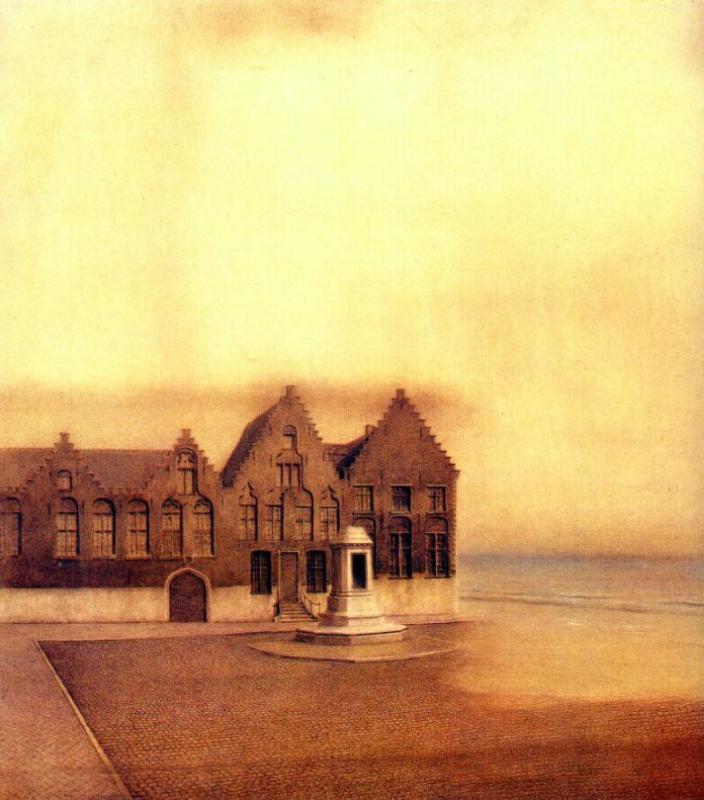 Fernand Khnopff. Ghost town