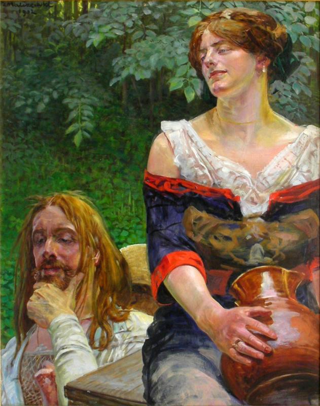 Я. Мальчевский«Христос исамаритянка», 1912