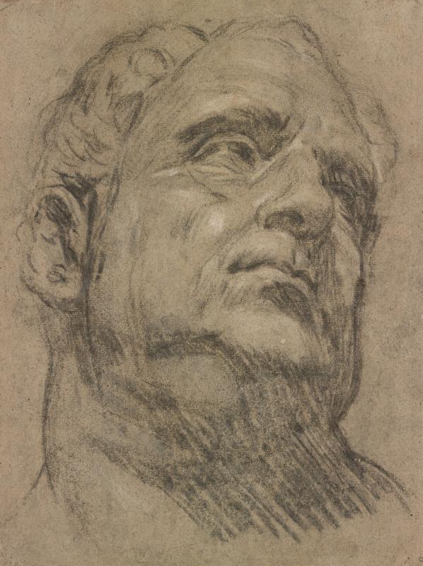 Jacopo (Robusti) Tintoretto. So-Called Head of Emperor Vitellius