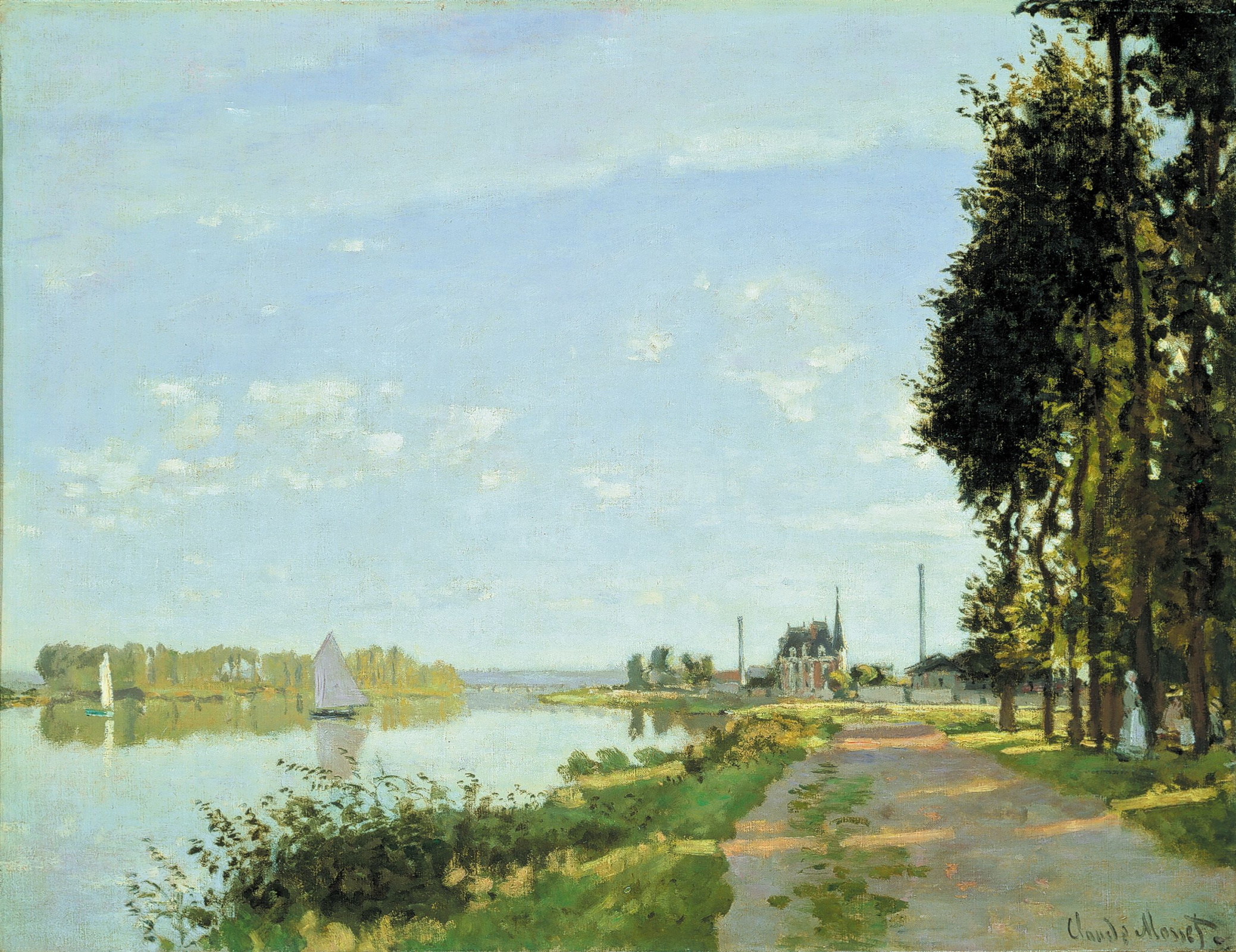 Argenteuil by Claude Monet: History, Analysis & Facts