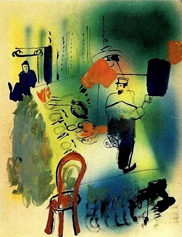 Иван Альбертович (Жан) Пуни. «Еврейский ужин» 1919