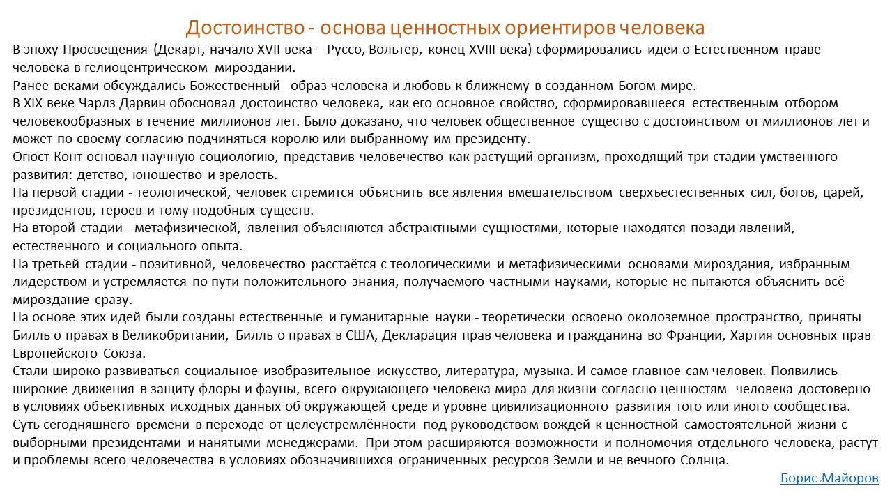 Boris Ivanovich Mayorov. Annotation