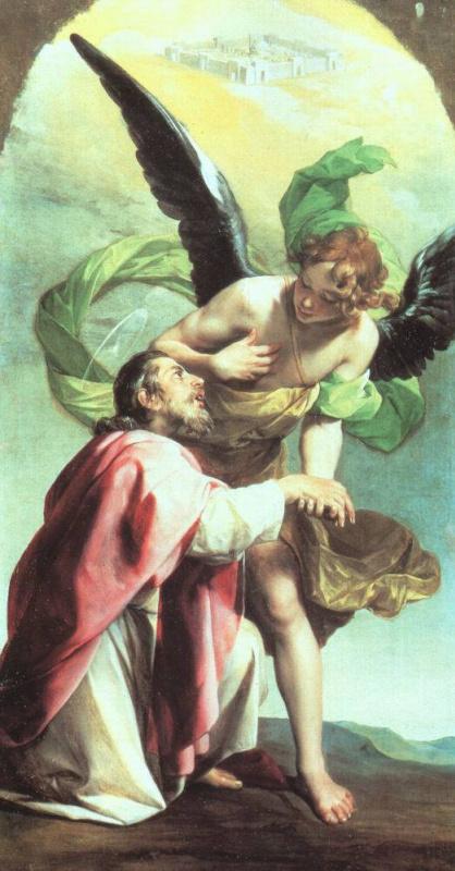 Алонсо Кано. Видение святого Иоанна