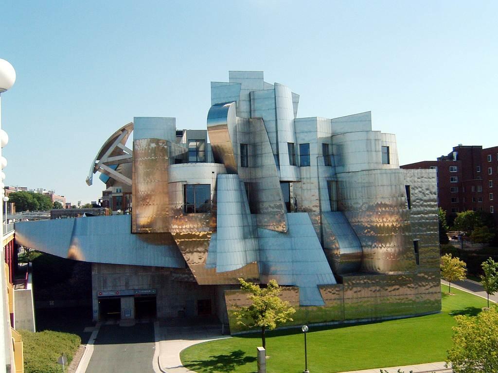 Фрэнк Оуэн Гери. Художественный музей Вейсмана