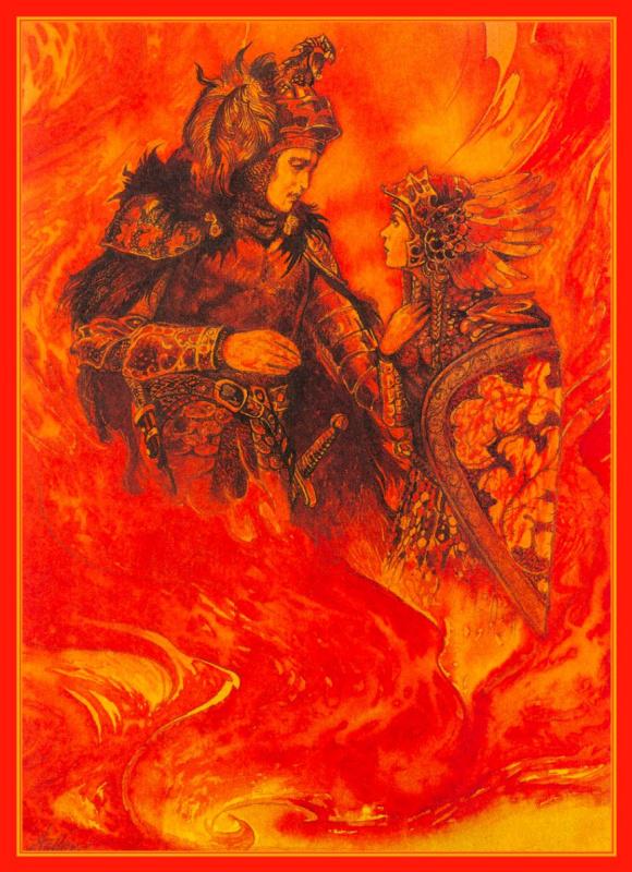 Иллюстрации к книге Рыцари. Зигфрид 01