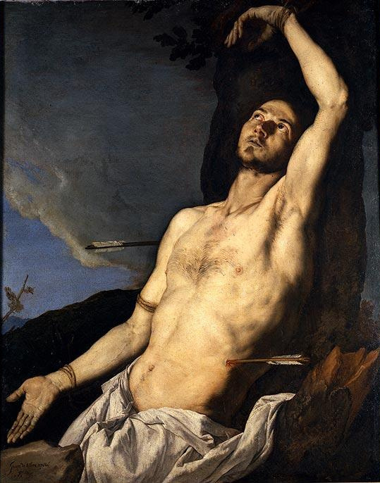 Jose de Ribera. SV. Sebastian