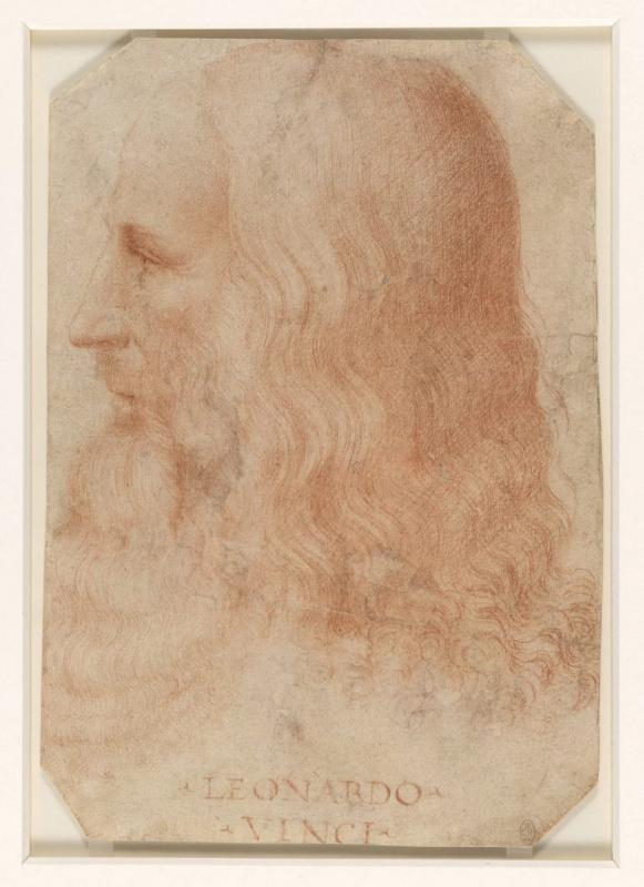 Франческо Мельци. Портрет Леонардо да Винчи (приписывается Мельци)