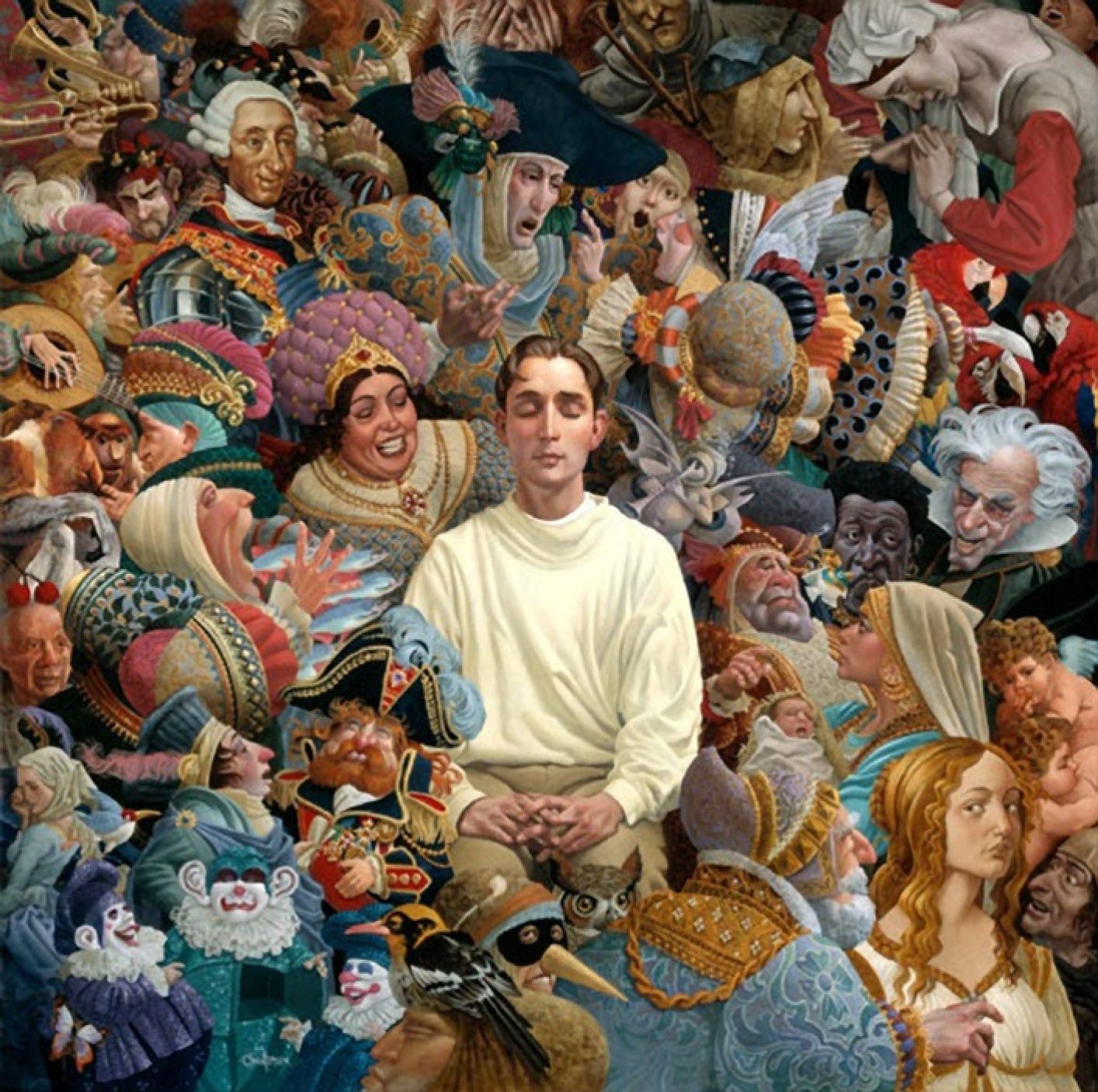 Listener by James Christensen: History, Analysis & Facts