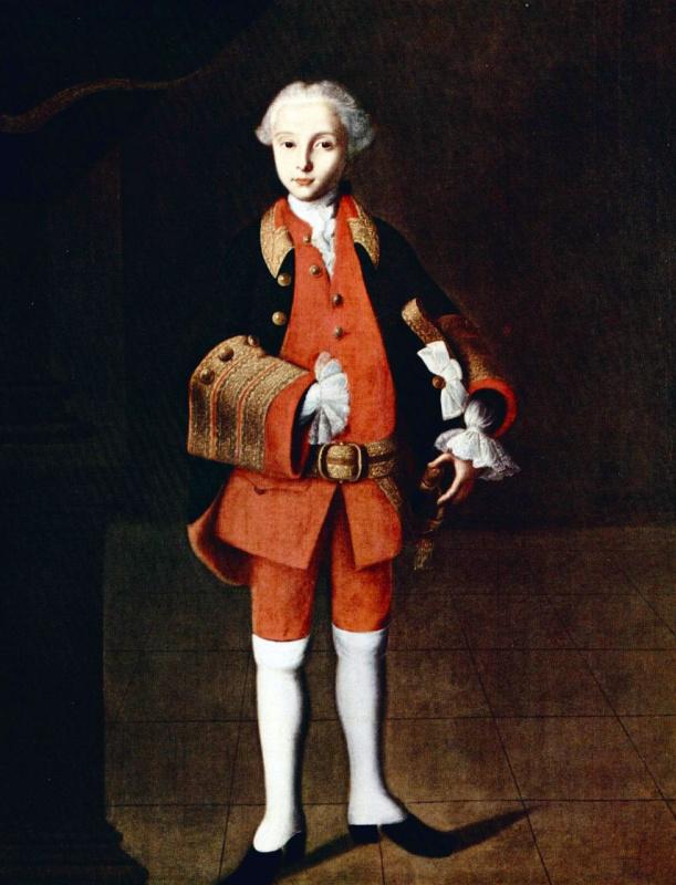 Ivan Yakovlevich Vishnyakov. Portrait Of William George Fermor