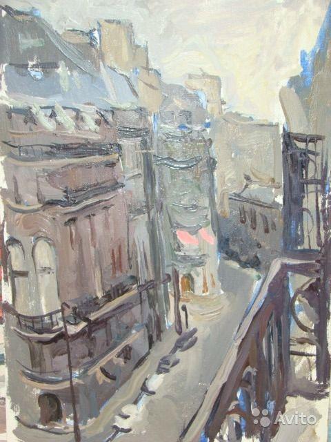 Григорий Александрович Сретенский. Франция. 1960