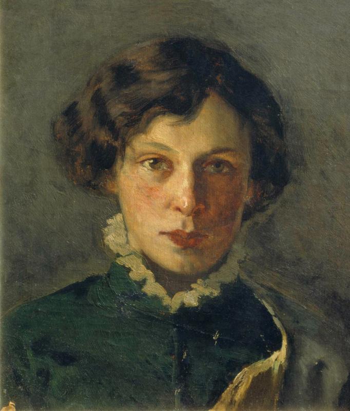 Михаил Васильевич Нестеров. Портрет М.И. Нестеровой, первой жены художника