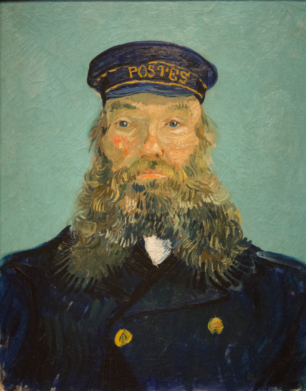 Portrait of the postman Roulin