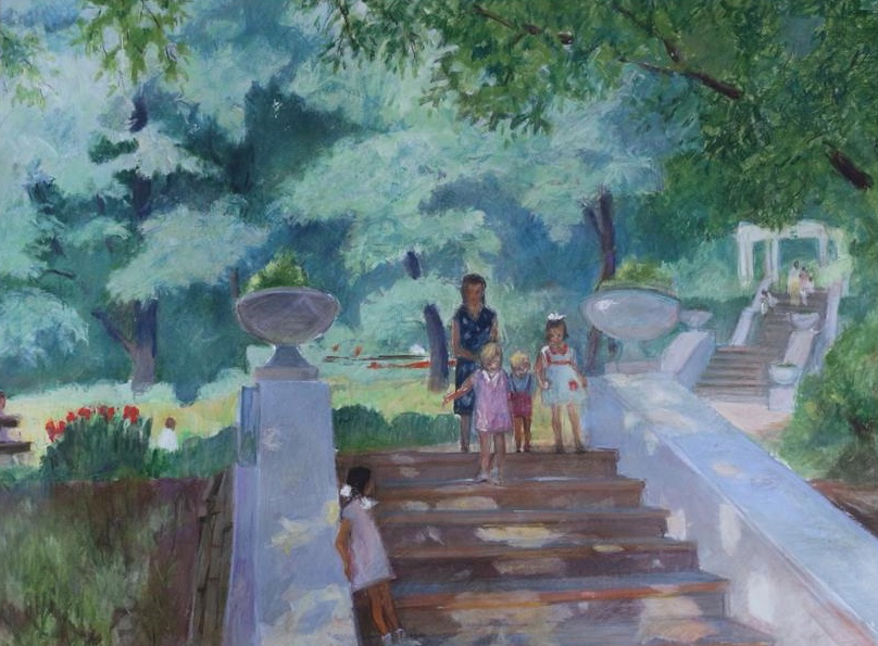 Ксения Викторовна Грищенко. Walk in the park 2