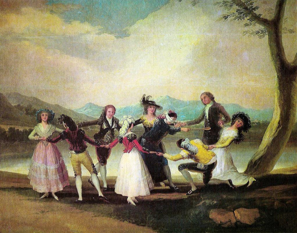 Francisco Goya. Blind Man's Bluff