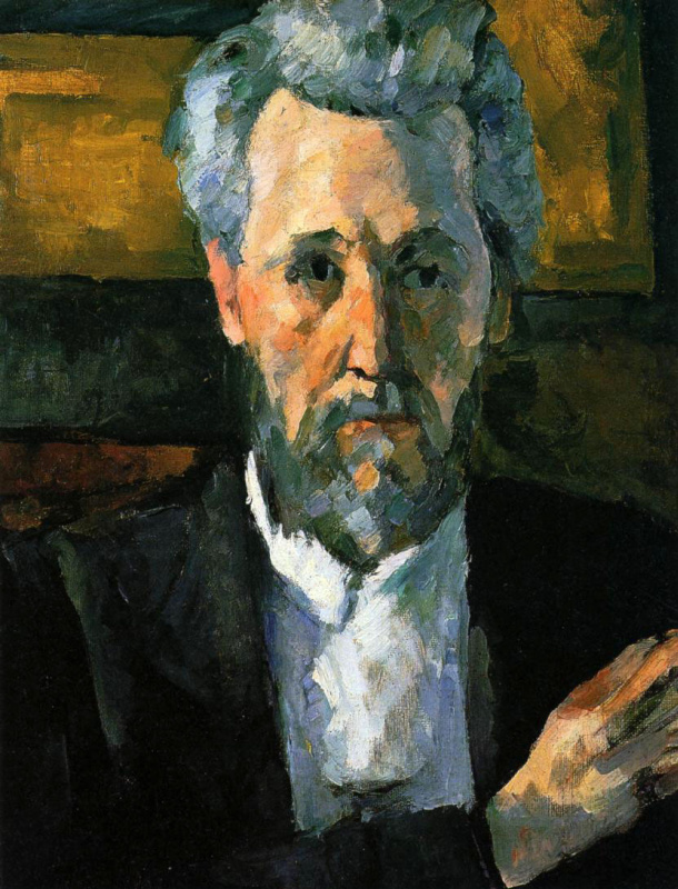 Paul Cezanne. Victor Chocquet