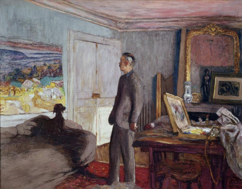 Jean Edouard Vuillard. Pierre Bonnard. Studio portrait